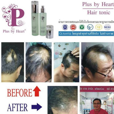 Plus by Heart Hair tonic Ingredient